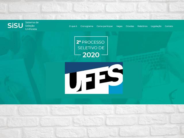 ufes sisu 2020-2