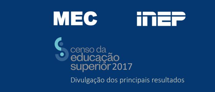 censo da educacao superior 2017