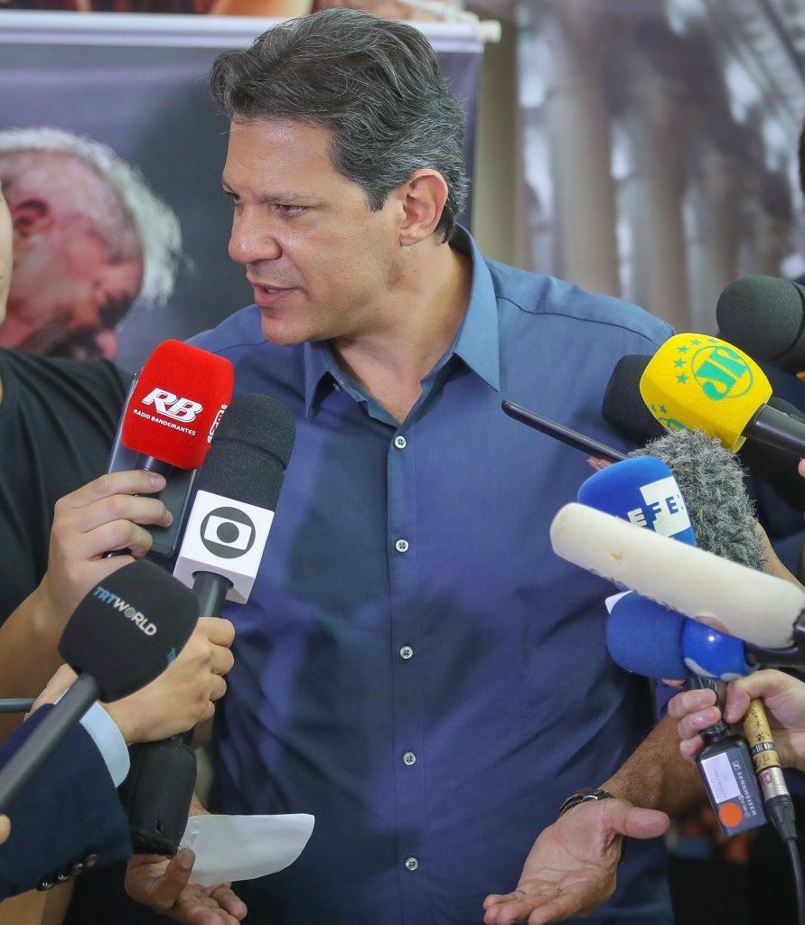 Fernando Haddad eleicoes 2018