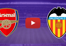 Arsenal x Valencia