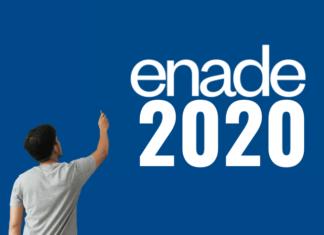 informações enade 2020